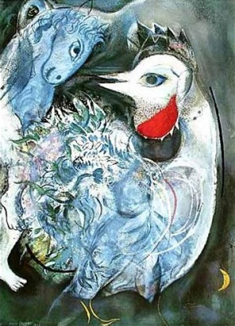 feathers  bloom art print  marc chagall worldgallery
