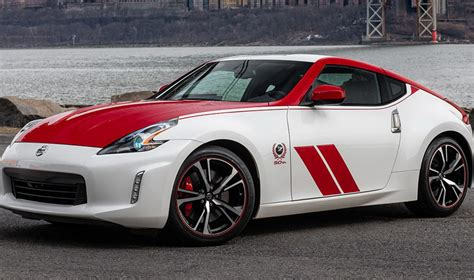 nissan   anniversary edition pays tribute