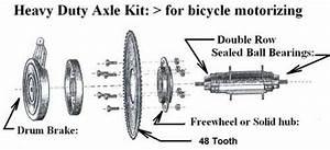 Freewheel Sprocket  U0026 Hd Axle Kit