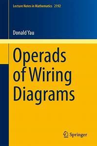 Operads Of Wiring Diagrams  Ebook