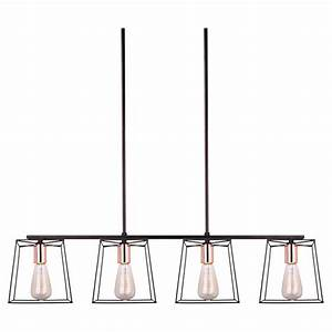 Quot coppertech light adjustable pendant rona