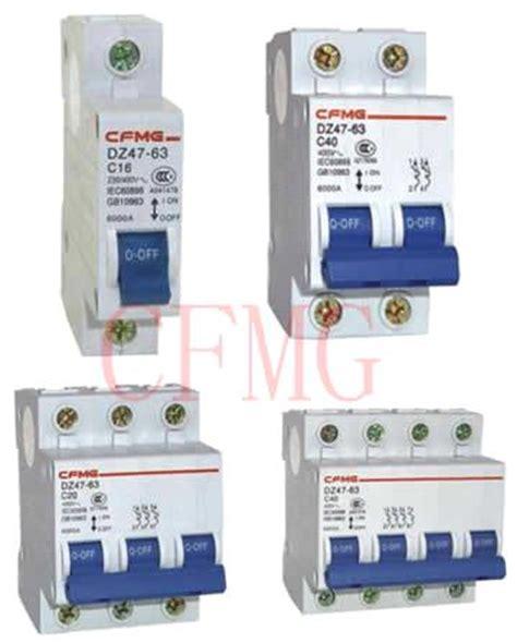 Mini Circuit Breaker From China Manufacturer