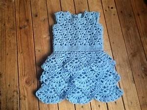 tuto crochet robe a volant bebe au crochet toutes les With robe crochet bébé