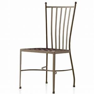 Chaise En Fer Forgé : chaise de cuisine en fer forg venise s 955 ~ Dode.kayakingforconservation.com Idées de Décoration