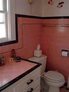 Vintage Bathroom Tile Ideas 36 Retro Pink Bathroom Tile Ideas And Pictures