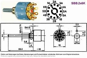 2 Pole 5 Position Rotary Switch Wiring Diagram