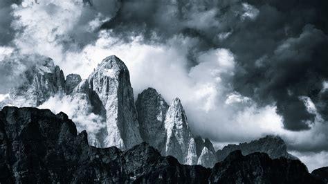 nature landscape mountain clouds british columbia