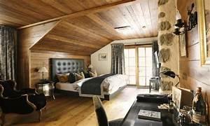 Chambre Parentale Cosy : d co chalet montagne 99 id es pour la chambre coucher ~ Melissatoandfro.com Idées de Décoration