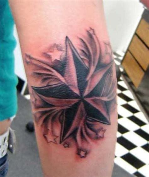 black nautical star tattoos tattoos star tattoo