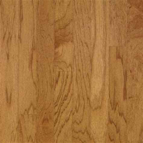 locking engineered wood flooring bruce hickory autumn wheat engineered click lock hardwood flooring 5 in x 7 in take home