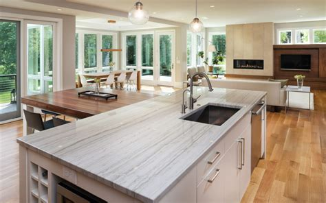 Choosing Kitchen Countertops by 7 Reasons To Choose Quartz Countertops C D Granite