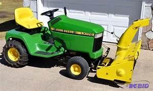 John Deere Lawn Tractor Snow Blower Manual