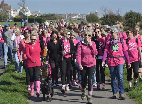Pink fundraisers in Deal step up and step out