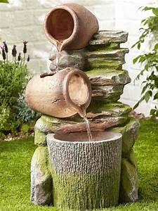 Faire Ses Moustiquaires Soi Même : construire une fontaine ext rieure pour apporter de l harmonie au jardin ~ Melissatoandfro.com Idées de Décoration