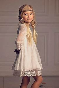 Robe Boheme Fille : robe fille premiere communion ~ Melissatoandfro.com Idées de Décoration