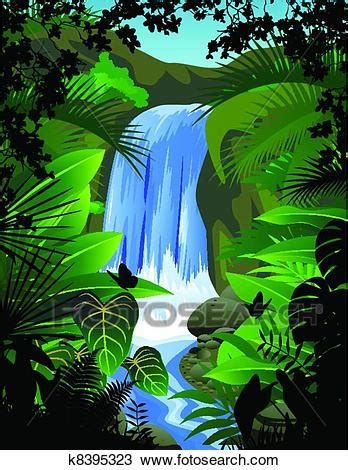 clipart  tropical forest background  search