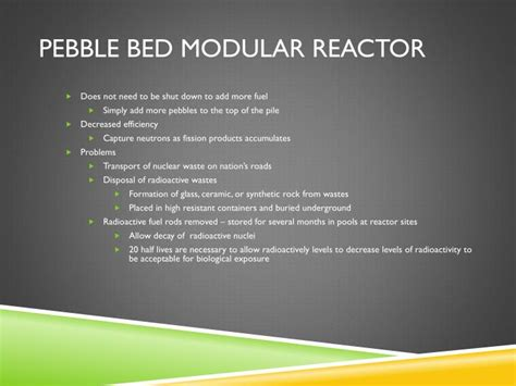 Pebble Bed Reactor by Ppt Fueling H2 City Powerpoint Presentation Id 1857292