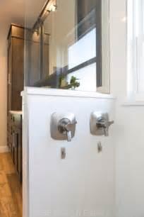 barn door mirror master bath kbf design gallery