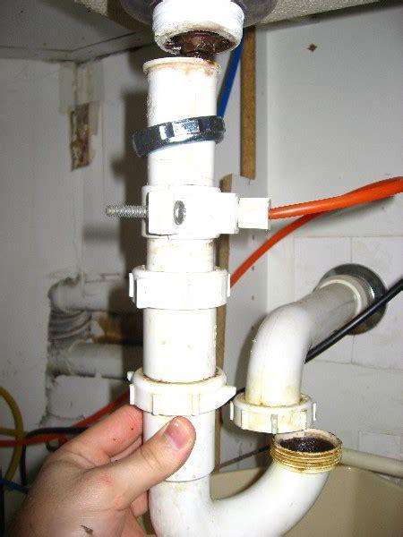 kitchen sink drain leak repair guide