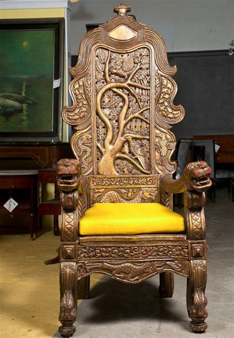 carved chinese throne chair throne chair armchairs