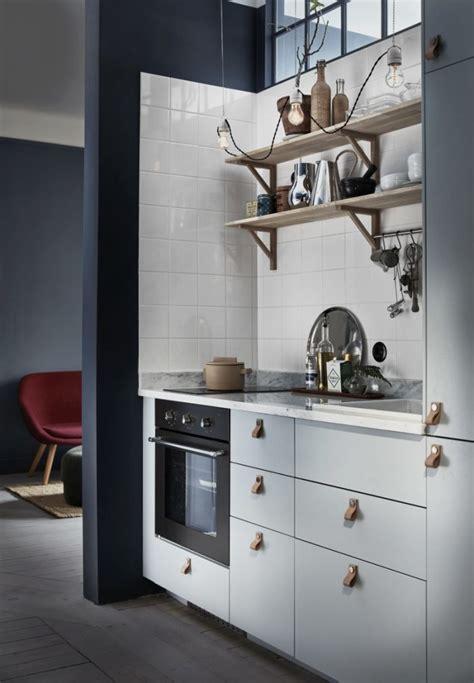 Kleine Keuken Studio by Klein Appartement 30m2 Met Denim Blauwe Muren