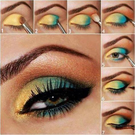 makeup tutorial  vibrant colors alldaychic