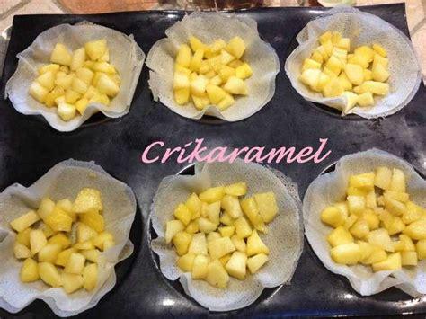les meilleures recettes de feuilles de brick et pomme