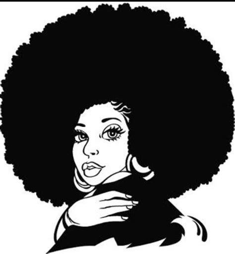 Afro woman free svg design✅ thanks god its fro'day. Free Afro Lady Cliparts, Download Free Clip Art, Free Clip ...