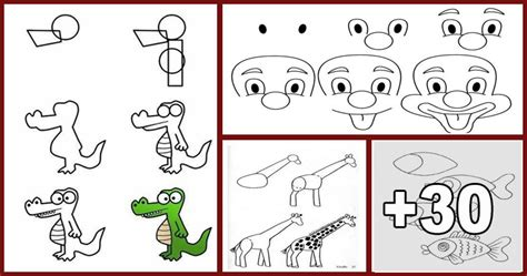Dibujos Faciles De Dibujar Paso Paso