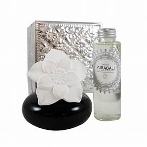 Diffuseur D Ambiance : diffuseur de parfum d 39 ambiance fleur de bali coffret alu fait main purabali ~ Teatrodelosmanantiales.com Idées de Décoration