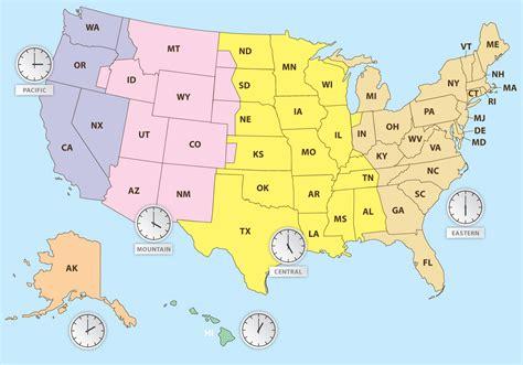 time zones map vector vector art stock graphics