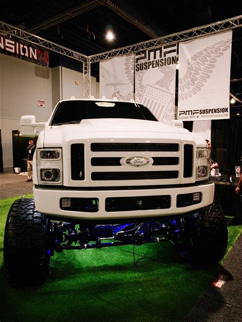 ford super duty custom trucks  sema