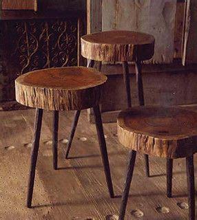 purpose  cherry tree stumps diy stool coffee