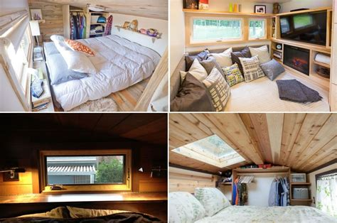 bedroom tiny house live a big in a tiny house on wheels