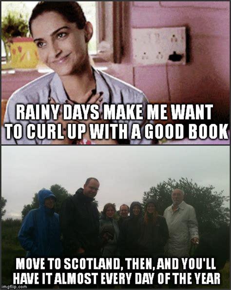 Rainy Day Meme - rainy day cliche imgflip