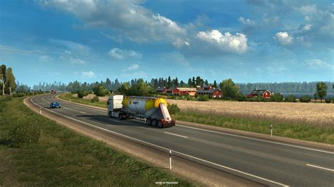 truck simulator 2 beyond the baltic sea truck simulator 2 beyond the baltic sea dlc ets2 mod