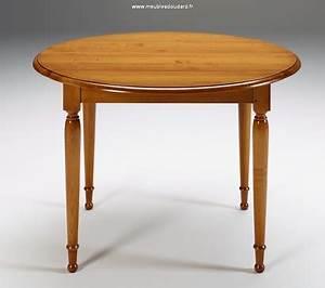 Table Ronde Rabattable : tables rondes en bois table ronde rallonges tables ~ Melissatoandfro.com Idées de Décoration