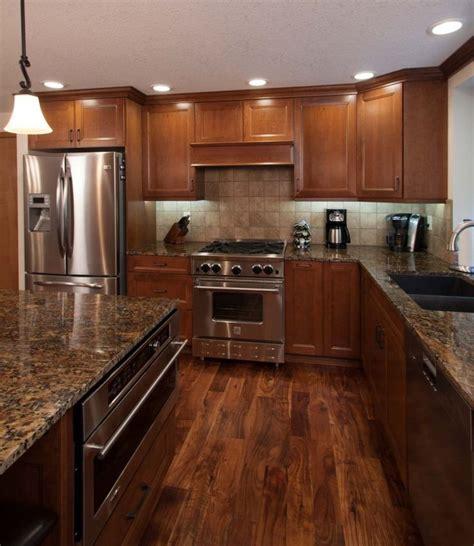 Light cherry kitchen cabinets readingworks.net. Hardwood Flooring : Light Hardwood Floors With Dark ...