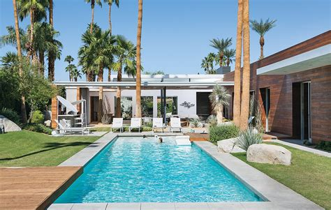 vacation home   california desert   modernist