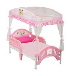 Toddler Bed With Canopy by Disney Disney Princess Toddler Bed With Canopy By Oj
