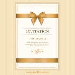 free sle wedding invitations invitation vectors photos and psd files free