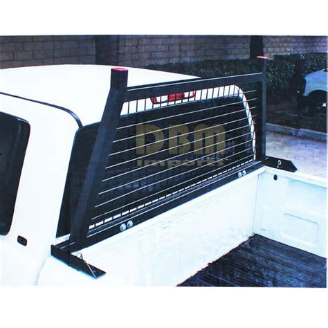 universal pickup truck rear window protector cage headache rack cab guard
