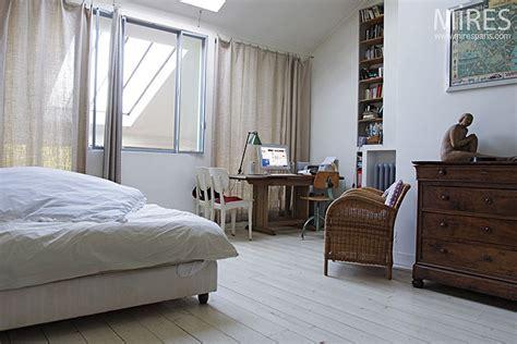 cuisine et cave chambre et parquet blanc c0278 mires