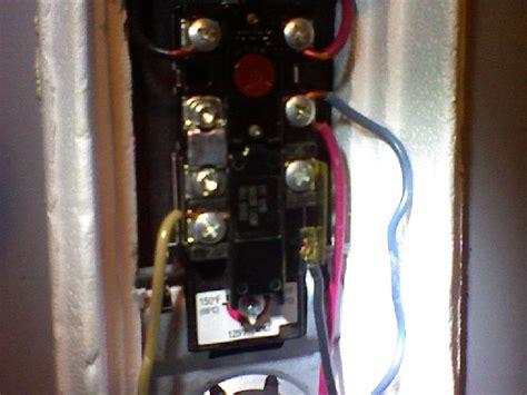 Hot Water Heater Circuit Breaker