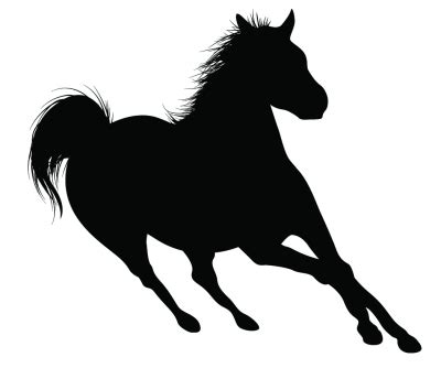 mustang horse silhouette running horse silhouette clipart panda free clipart images