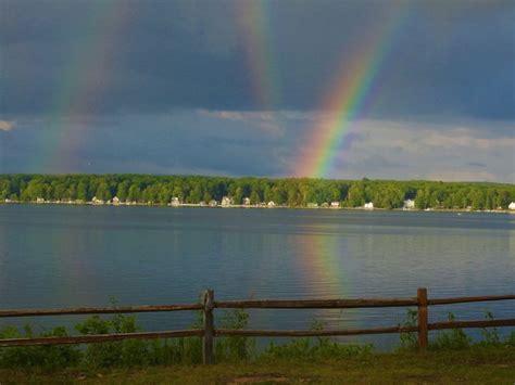 Rare Reflection Rainbow Over Michigan Todays Image