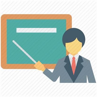 Icon Teacher Teaching Professor Classroom Tutor Icons