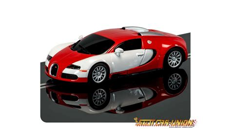 We don't know when or if this item will be back in stock. Scalextric C3527 Bugatti Veyron Rouge - Slot Car-Union