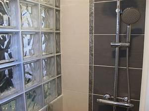 sde gris et blanc decor3 photo de salles de bain With salle de bains gris et blanc