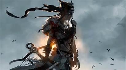 Hellblade Senua Sacrifice Wallpapers Senuas Ign Expect